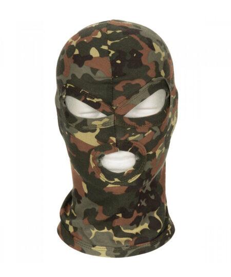 LUX Cotton Camouflage Balaclava Bondage Hoods