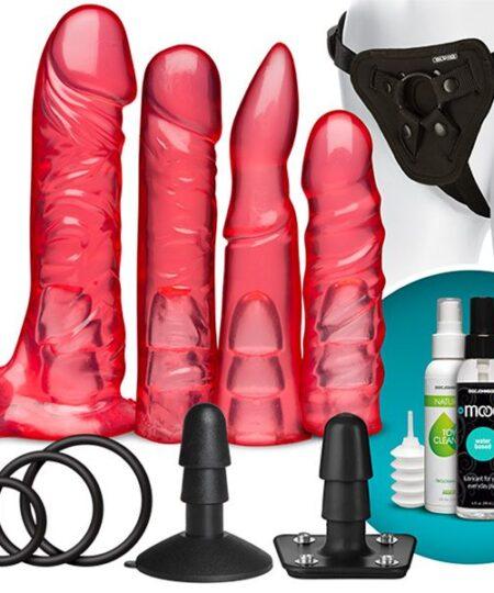 VacULock Crystal Jellies Harness Set Sex Kits