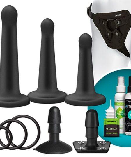 VacULock Platinum Silicone Pegging Set Sex Kits