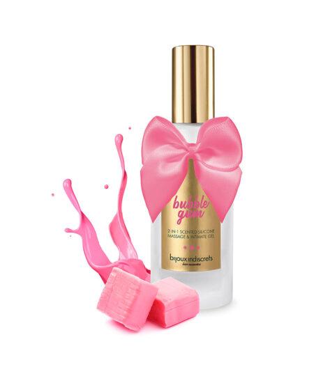 Bijoux Indiscrets Bubble Gum Massage And Intimate Gel 100ml Bath and Massage