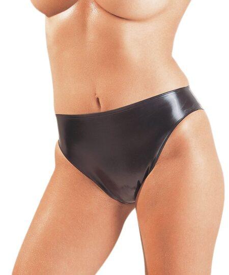 Latex Simple Panties Female