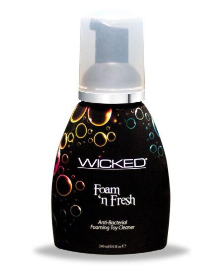Wicked Foam N Fresh Toy Cleaner 240mls Personal Hygiene