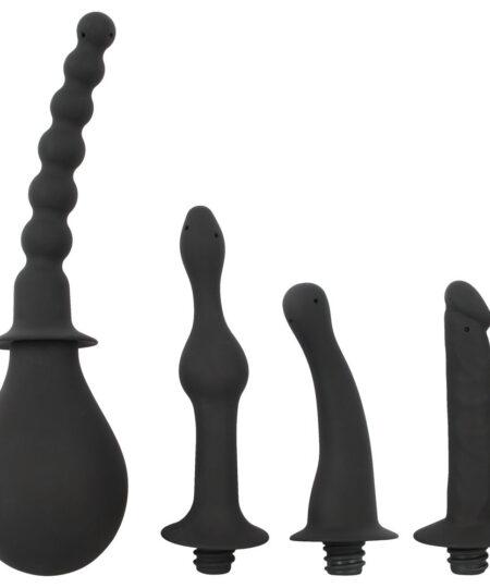Black Velvet Douche With Four Attachments Personal Hygiene