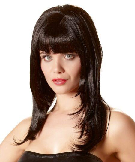Long Black Wig Accessories