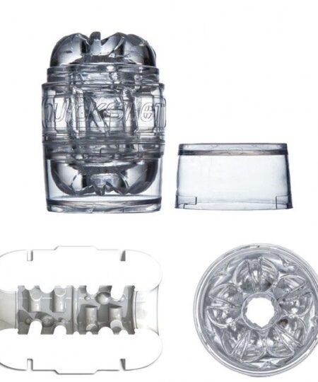 Fleshlight Quickshot Vantage Clear Fleshlights Complete Sets