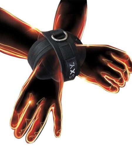 SXY Cuffs  Deluxe Neoprene Cross Cuffs Restraints