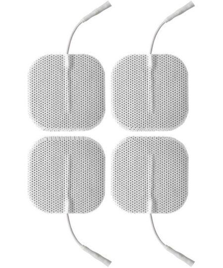ElectraStim Square Self Adhesive ElectraPads (4 Pack) Electro Sex Stimulation