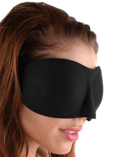 Frisky Deluxe Black Out Blindfold Masks