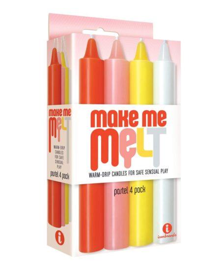 Make Me Melt Warm Drip Candles Bath and Massage