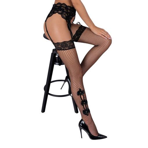 Corsetti Mikosina Fishnet Stockings Black Stockings 2