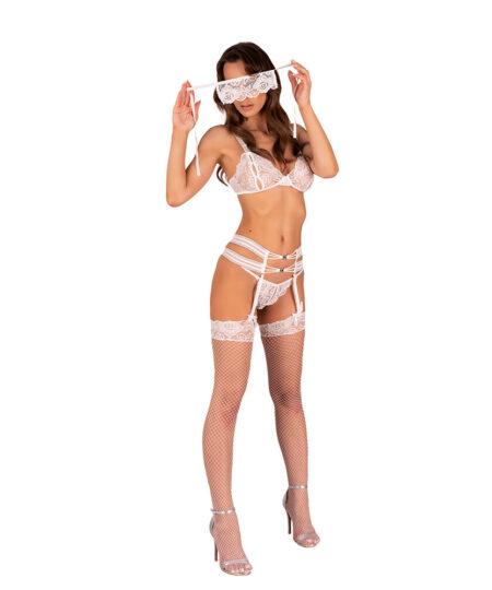 Corsetti Sameera Open Crotch and Panty Set Bra Sets