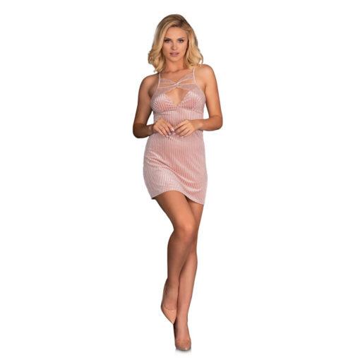 Corsetti Thorjako Nightdress And Thong Pink Dresses and Chemises