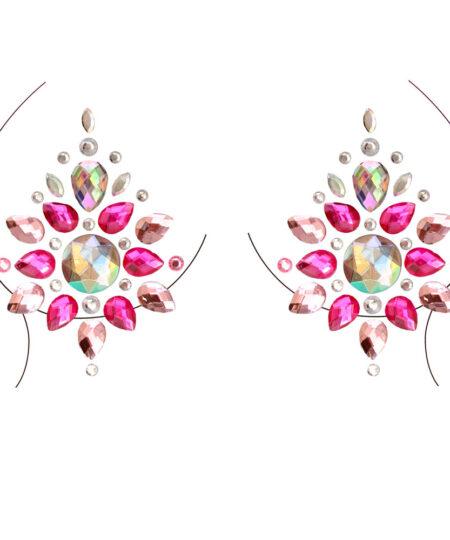 Phoenix Nipple Jewels Sticker NIPPLE007 Body Jewellery