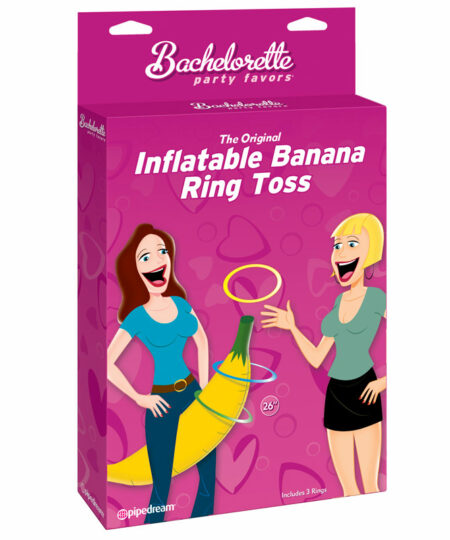 Inflatable Banana Ring Toss Hen And Stag Nights