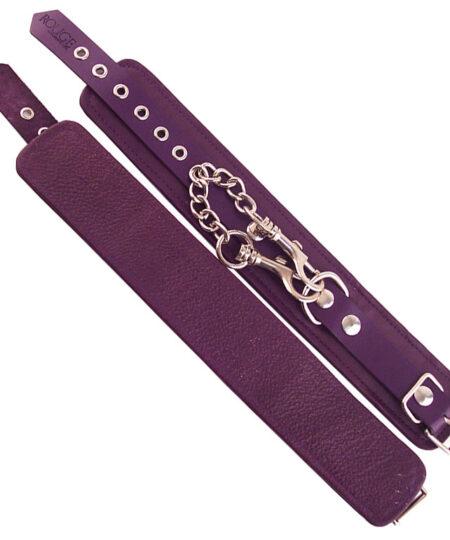 Rouge Garments Ankle Cuffs Purple Restraints