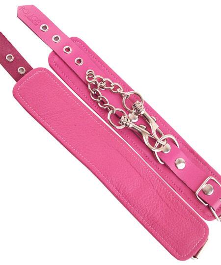 Rouge Garments Wrist Cuffs Pink Restraints