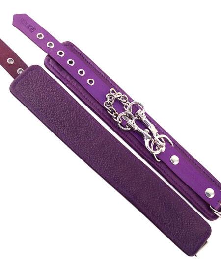 Rouge Garments Wrist Cuffs Purple Restraints