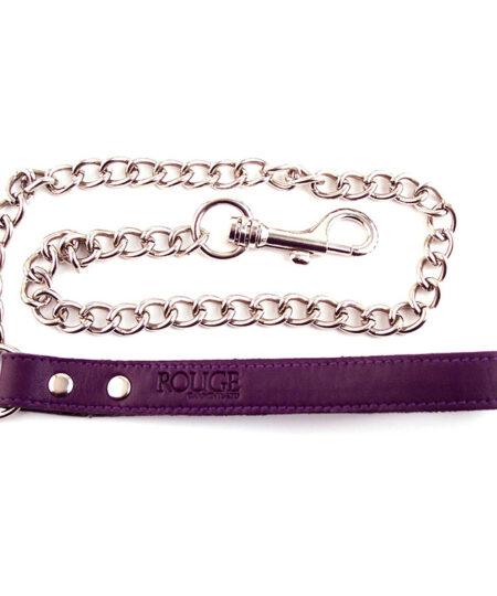 Rouge Garments Purple Lead Restraints
