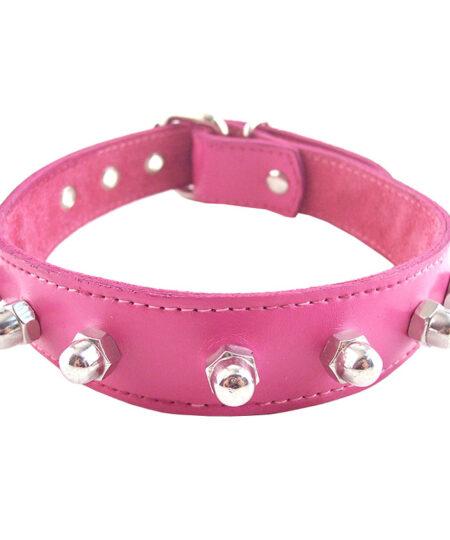 Rouge Garments Pink Nut Collar Collars
