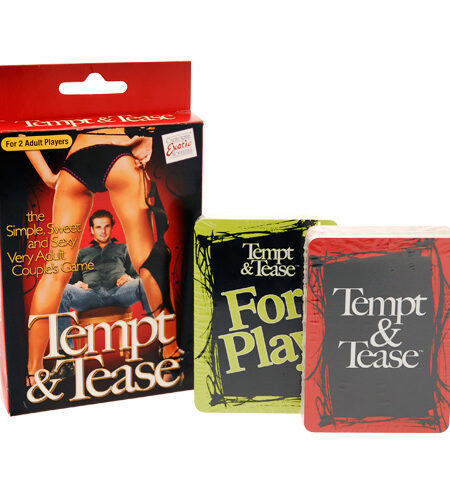 Tempt And Tease Game Games