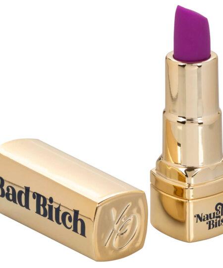 Naughty Bits Bad Bitch Rechargeable Lipstick Vibrator Mini Vibrators