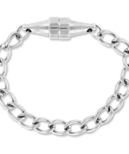 Brushed Steel Mini Magnetic Nipple Pincher x1 Nipple Clamps