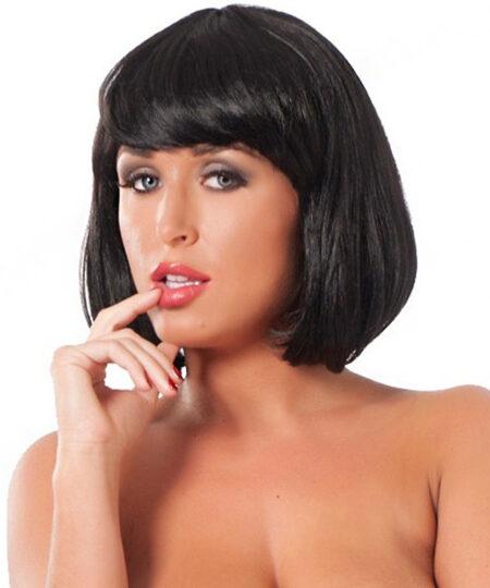 Short Black Wig Accessories