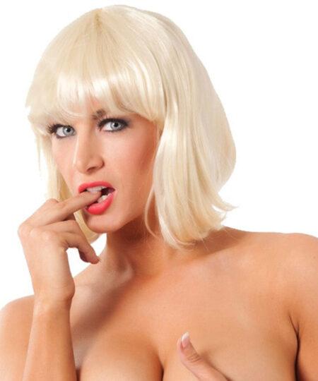 Short Blonde Wig Accessories
