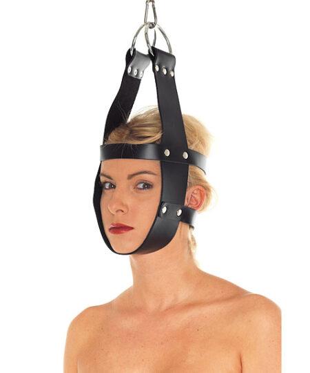 Leather Mask Hanger Restraints